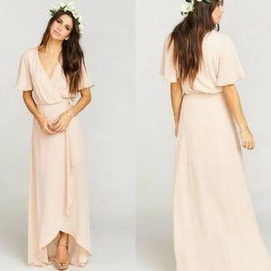 Show Me Your Mumu Sophia Wrap Maxi Dress
